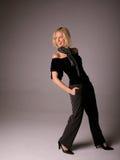 szczęśliwa kobieta mody zdjęcie stock
