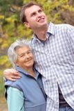 szczęśliwa kobieta starsza obraz royalty free