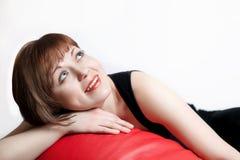 szczęśliwa kobieta uśmiechnięta piękna Obrazy Stock