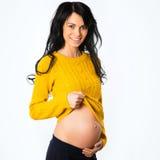 szczęśliwa kobieta w ciąży zdjęcia royalty free