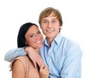 Szczęśliwa kochająca para. Obrazy Stock