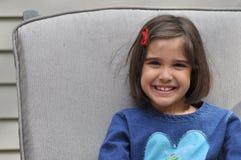Szczęśliwa Latynoska Dziewczyna Fotografia Royalty Free