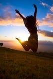 Szczęśliwa młoda kobieta Fotografia Stock
