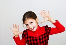 Szczęśliwa mała dziewczynka Zdjęcia Royalty Free