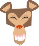 szczęśliwa małpka twarzy Zdjęcia Stock