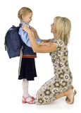 szczęśliwa matka córkę Zdjęcie Stock