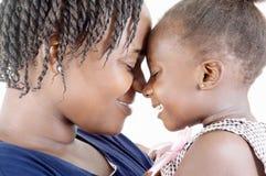 szczęśliwa matka córkę obraz stock