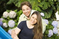 Szczęśliwa matka I córka fotografia stock