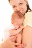 Szczęśliwa matka i dziecko zdjęcie stock