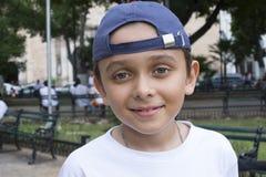 Szczęśliwa miasto chłopiec Zdjęcie Stock