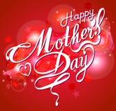 Szczęśliwa Mothers dnia projekta Typographical karta Obraz Stock