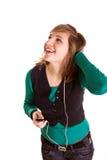 szczęśliwa muzyki Obrazy Royalty Free