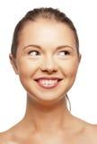 Szczęśliwa nastoletnia dziewczyna Obrazy Stock