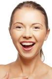 Szczęśliwa nastoletnia dziewczyna Zdjęcia Royalty Free