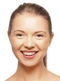 Szczęśliwa nastoletnia dziewczyna Obraz Royalty Free