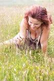 szczęśliwa natura Zdjęcia Royalty Free