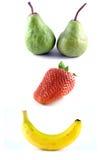 szczęśliwa owoców Zdjęcia Royalty Free