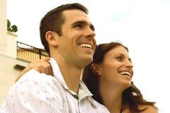 Szczęśliwa Para Zdjęcia Stock