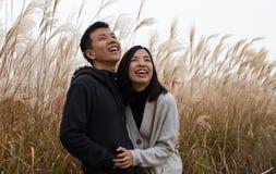 szczęśliwa para azjatykcia Fotografia Stock