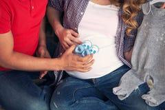 Szczęśliwa para oczekuje dziecka Obraz Royalty Free