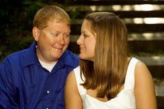 szczęśliwa pary miłość Fotografia Stock
