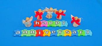 Szczęśliwa rocznica Obraz Stock