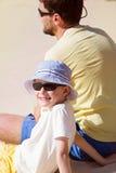 szczęśliwa rodzina razem Zdjęcia Royalty Free