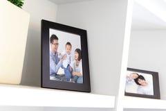 Szczęśliwa Rodzinna fotografia obrazy stock