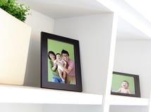 Szczęśliwa Rodzinna fotografia Zdjęcie Stock