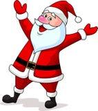 Szczęśliwa Santa klauzula kreskówka Fotografia Royalty Free