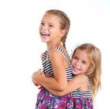 Szczęśliwa siostra fotografia royalty free