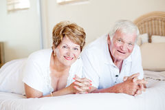 Szczęśliwa starsza para Fotografia Stock