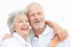 Szczęśliwa starsza para