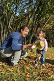 szczęśliwa tata córka fotografia royalty free