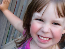 szczęśliwa twarz Obrazy Royalty Free