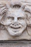 Szczęśliwa twarzy rzeźba Zdjęcia Royalty Free