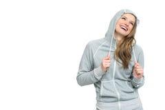 Szczęśliwa uśmiechnięta sport dziewczyna Obraz Royalty Free