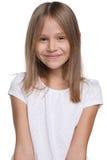 Szczęśliwa urocza młoda dziewczyna Fotografia Stock