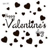 Szczęśliwa valentines dnia miłości abstrakcja Obraz Royalty Free