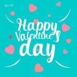 Szczęśliwa valentines dnia miłości abstrakcja Zdjęcie Stock
