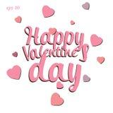 Szczęśliwa valentines dnia miłości abstrakcja Zdjęcia Stock