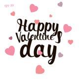 Szczęśliwa valentines dnia miłości abstrakcja Obrazy Royalty Free