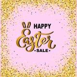 Szczęśliwa Wielkanocna sprzedaż ilustracji