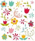 Szczęśliwa wiosny karta Zdjęcie Royalty Free