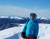 Szczęśliwa zima fotografia stock