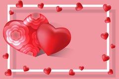szczęśliwe dni valentines Obraz Royalty Free