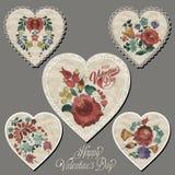szczęśliwe dni valentines royalty ilustracja
