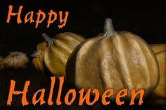 szczęśliwe dynie halloween Obraz Stock