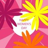 szczęśliwe dzień kobiety s Zdjęcia Royalty Free