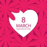 szczęśliwe dzień kobiety s Obraz Royalty Free